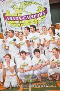 Вторые российские игры Абада Капоэйра с мештрандо Пейше Кру 2011